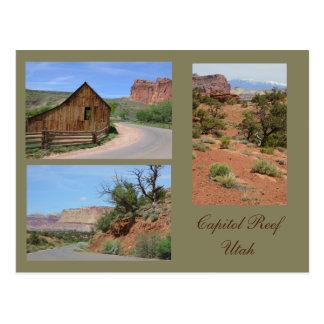 Capitol Reef Utah Photo Template Card