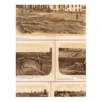 Capitol, Richmond Libby Prison Postcard