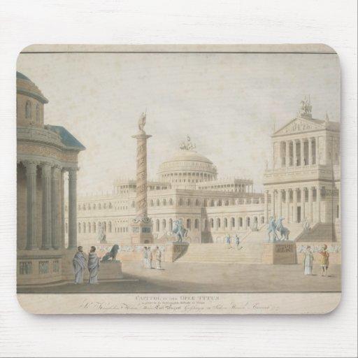 Capitol, set for 'La clemeza di Tito' by Mousepads