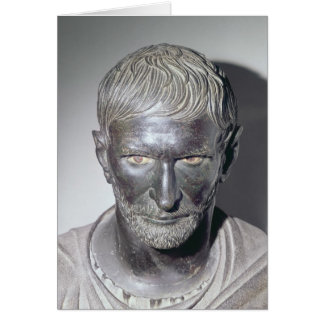 Capitoline Brutus 4th-3rd century BC Greeting Card