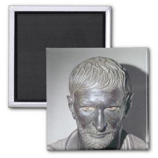 Capitoline Brutus, 4th-3rd century BC Square Magnet