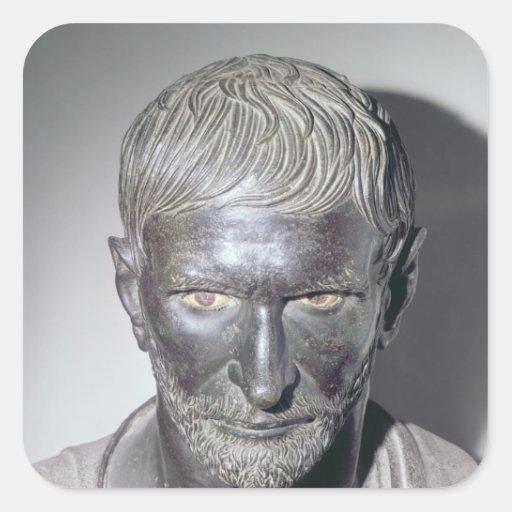Capitoline Brutus, 4th-3rd century BC Sticker
