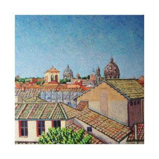 Capitoline Hill 2008 Canvas Print