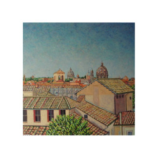 Capitoline Hill 2008 Wood Print