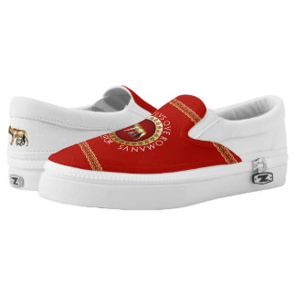 Capitoline She-Wolf Slip On Shoes