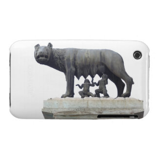 Capitoline Wolf Statue (She-wolf suckling), iPhone 3 Case-Mate Cases