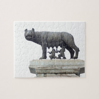 Capitoline Wolf Statue (She-wolf suckling), Jigsaw Puzzle