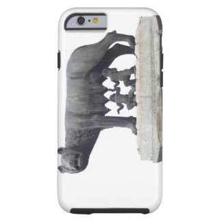 Capitoline Wolf Statue (She-wolf suckling), Tough iPhone 6 Case