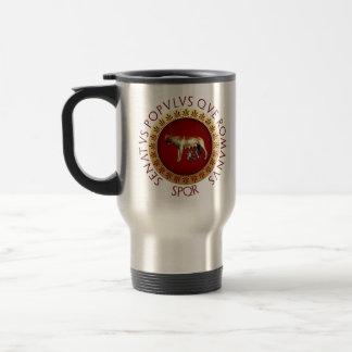 Capitoline Wolf Travel Mug