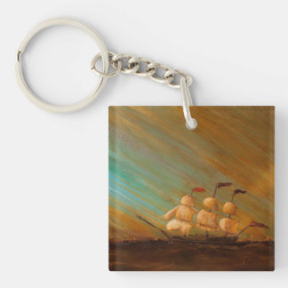 Capn' Arghh Comes to Town Key Ring