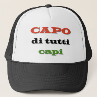 Capo/Boss Trucker Hat