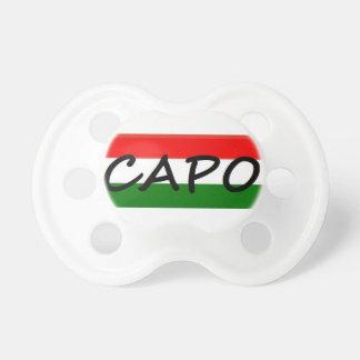 CAPO, capo means BOSS! in italian and spanish, Dummy