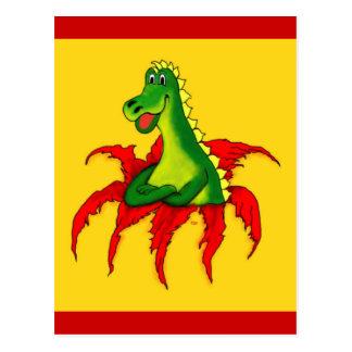 Capo, the little Dragon Postcard
