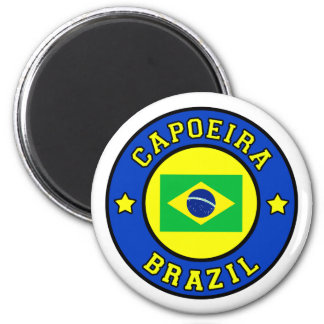 Capoeira 6 Cm Round Magnet