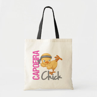 Capoeira Chick Tote Bag