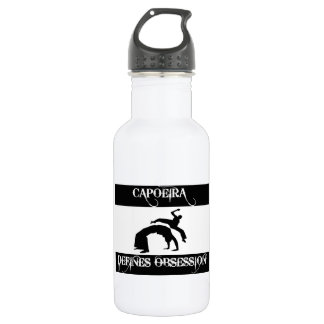 capoeira design 532 ml water bottle