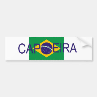 Capoeira flag bumper sticker