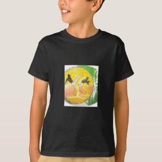 capoeira ginga axe shirt black