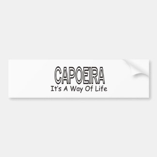 Capoeira It s A Way Of Life Bumper Stickers