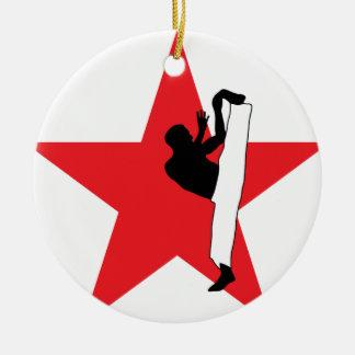 Capoeira Martial Art Fight Figher Christmas Ornament
