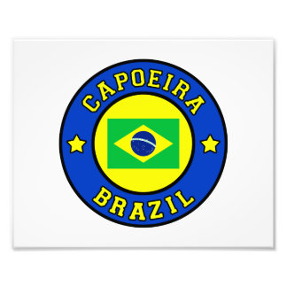Capoeira photo print