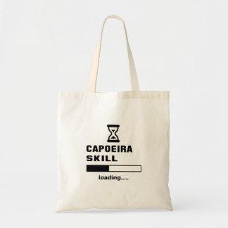 Capoeira skill Loading...... Tote Bag
