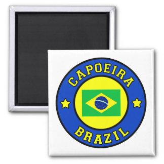 Capoeira Square Magnet