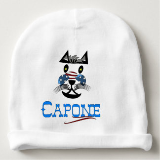 Capone baby cap in Weis Baby Beanie