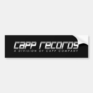 CAPP Records Bumper Sticker