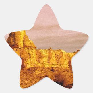 Cappadocia Scene 80 Star Sticker