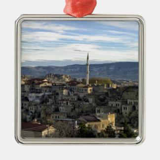 Cappadocia Silver-Colored Square Decoration