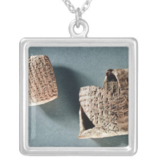Cappadocian letter and envelope, from Turkey Silver Plated Necklace