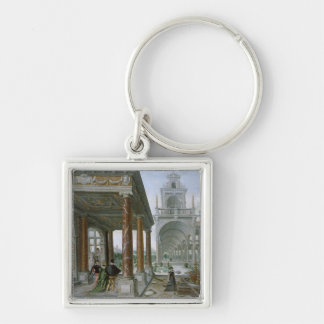 Cappricio of palace architecture key chains