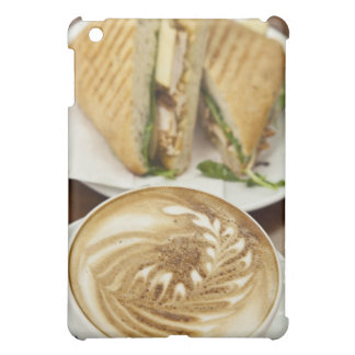 Cappuccino and panini lunch iPad mini cover