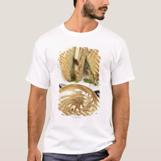 Cappuccino and panini lunch T-Shirt