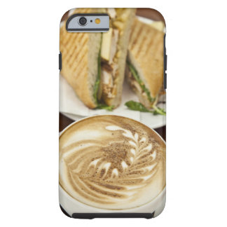 Cappuccino and panini lunch tough iPhone 6 case