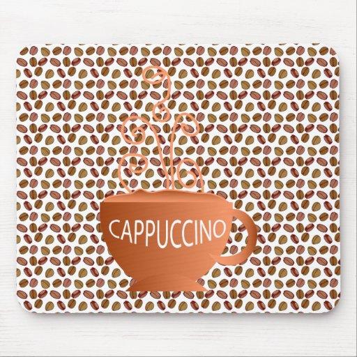 Cappuccino Beans Mousepad