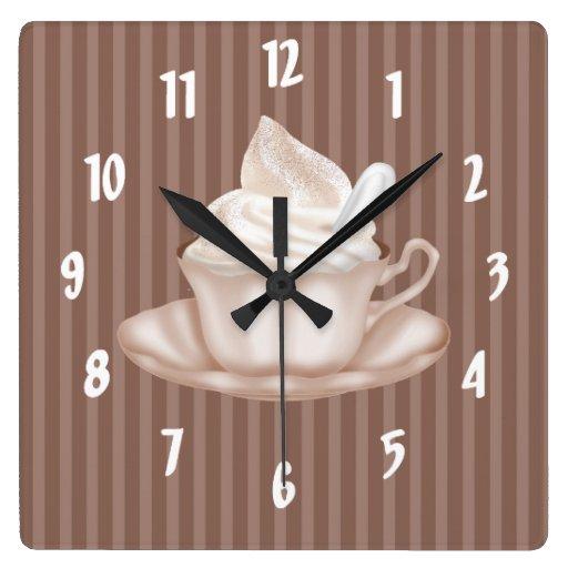 Cappuccino Wall Clocks
