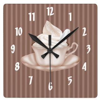 Cappuccino Clocks