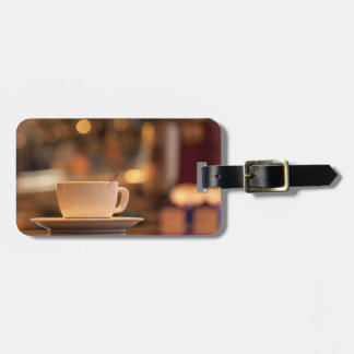 Cappuccino coffee, Venice, Italy Luggage Tag