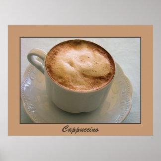 Cappuccino Italian coffee Poster