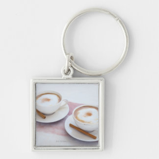 Cappuccino Key Ring