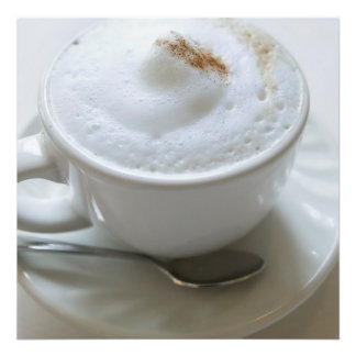 Cappuccino Mug 2 Photo Print