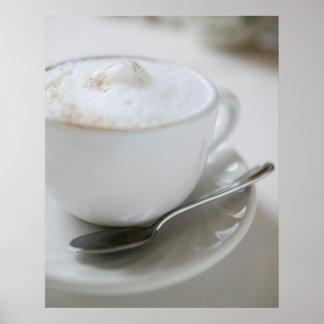 Cappuccino Mug Poster