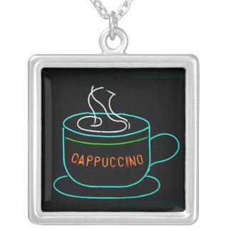 Cappuccino Neon Sign Necklaces