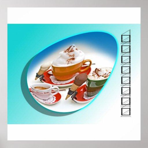 Cappuccino Poster