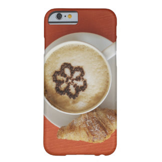 Cappuccino with chocolate and a croissant, Italy Barely There iPhone 6 Case