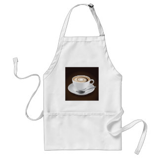 Cappuccino With Swirl Standard Apron