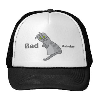 cappucino Bad Hairday Trucker Hat
