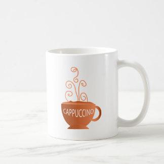 Cappucino Basic White Mug